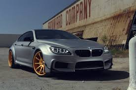 matte white bmw 6 series savini wheels