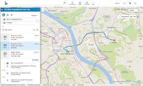 Microsoft Map Bing Maps Das Alles Kann Microsofts Google Maps Alternative