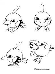 natu pokemon coloring psychic pokemon coloring sheets