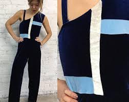 blue velvet jumpsuit blue velvet jumpsuit etsy