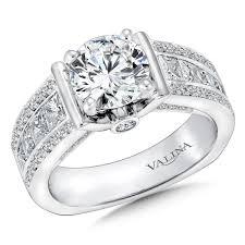 engagement rings dallas shira diamonds cut semi mount engagement ring cathedral
