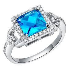 blue crystal rings images 28 best fancy rings aliexpress images rings jpg