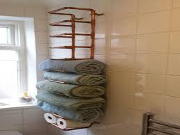 unique bathroom hardware towel storage in small bathrooms diy