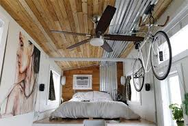terraform one is a loft less 250 sq ft tiny house for bike