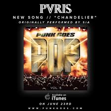 Chandelier Cover Pvris Release Cover Of Sia S Chandelier Sounds Just The Same