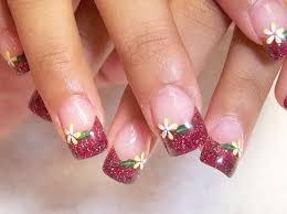 nail polish designs blacklight and dark pink nail polish design