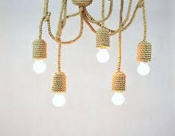 vintage sailing pendant lights diy retro hemp pendant