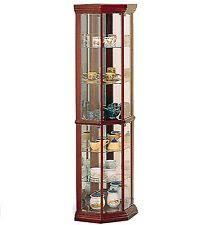 Glass Shelves Cabinet Glass Curio Cabinet Ebay