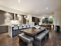 Dining Room Idea With Hardwood  Barwine Bar Dining Room Photo - Modern dining room