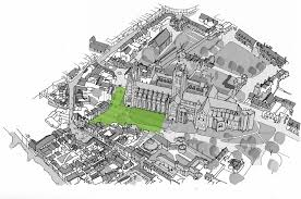 canterbury cathedral floor plan canterbury cathedral landscape design competition e architect