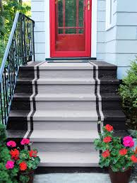 Painted Concrete Porch Pictures by How To Paint Concrete Steps Hgtv