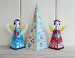 ellen giggenbach paper craft christmas tree