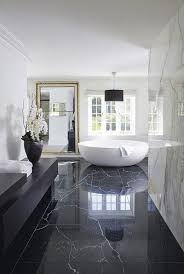 modern black and white luxury bathroom design see more