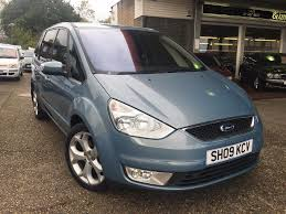 galaxy car used ford galaxy 2 3 ghia 7 seater auto 38700 miles avalon blue
