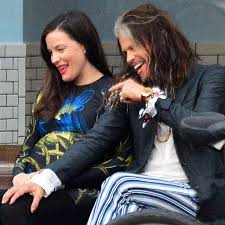 steven tyler and liv tyler out in nyc june 2016 popsugar celebrity