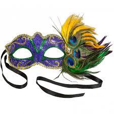 peacock mardi gras mask glitter peacock mask purple 24592 p craftoutlet