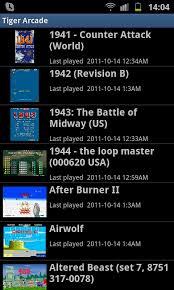 tiger arcade emulator apk computer mame arcade tiger android