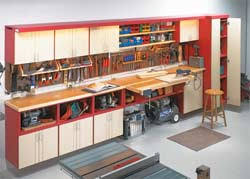 Free Wooden Garage Shelf Plans by 15 Diy Garage Storage Cabinets Free Plans Building Stylish Design