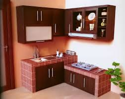 Kitchen Set Furniture Exellent Simple Kitchen Set Minimalis O For Inspiration Decorating