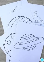 printable outer space coloring book big picture outer space and