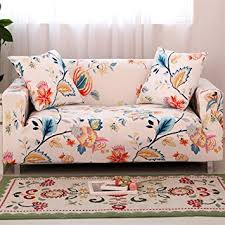Sofa Loveseat Covers by Amazon Com Forcheer Stretch Couch Covers Sofa Slipcovers Fitted