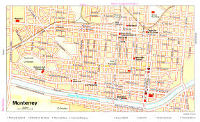 Mexico Airports Map by Mexico City Tourist Attractions Map In Of Mexico City