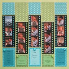 scrapping fun with the filmstrip die mosaic moments photo