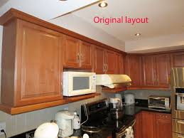 replace microwave oven cabinet with wine rack