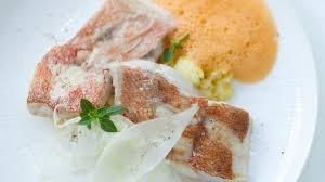 cuisiner le fenouil cru recette de filet de rascasse rattes et fenouil cru de jean louis