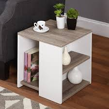 small urban end table walmart living room furniture white and