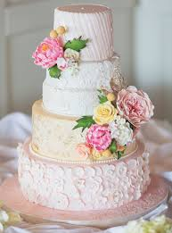 spring themed wedding cake ideas