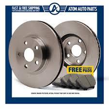 nissan versa brake pads f oe brake rotors u0026 ceramic pads ebay