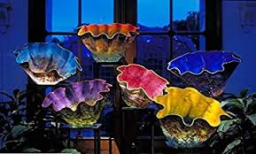 Glass Blown Chandelier Modern Glass Bowl Blown Chandelier Chandeliers Buy