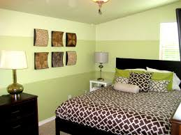 bedroom decor painted wall borders horizontal black and white