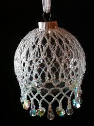 249 best beaded ornaments images on beaded ornaments