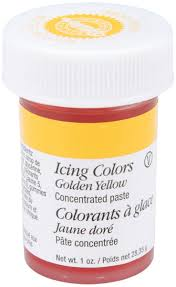 amazon com wilton icing colors 1 ounce golden yellow kitchen