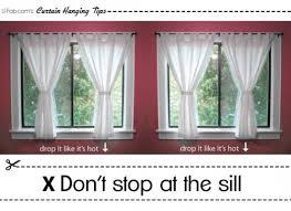Length Curtains Window Curtains Photos Of Window Sill Length Curtains Eyelet