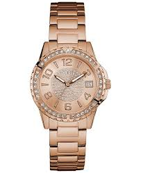 bracelet watches guess images Guess women 39 s crystal accented rose gold tone stainless steel tif