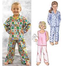 kwik sew toddlers sleepwear pattern discount designer fabric