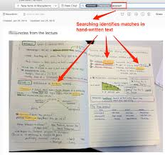 how to write academic papers academic workflows on a mac for productive and enjoyable scholarship handwritten lecture notes searched in evernote