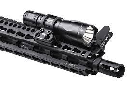 ar 15 light mount daniel defense keymod offset flashlight mount