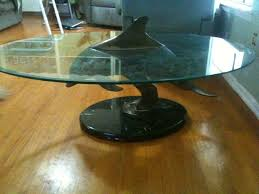 dolphin table with glass top the allee willis museum of kitsch dolphin coffee table