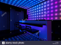 dance club interior and beautiful lights stock photo royalty free