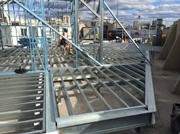 light gauge steel deck framing spantec steel floor roof frame systems bearers joists piers