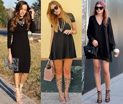 black dress with shoes all about shoes