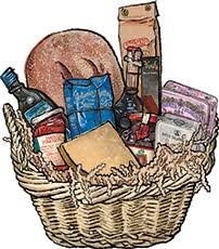 italian food gift baskets tuscan s treat italian food gift basket for sale buy online at
