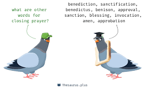 terms closing prayer and thanksgiving similar meaning