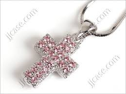 cross necklace pink images Swarovski cross necklaces the prettiest necklace 2017 jpg