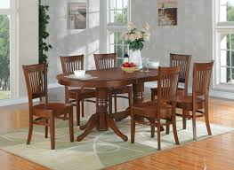 Oak Dining Room Set Oval Dining Room Table French Black Cherry Hardwood Oval Dining
