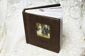 leather photo albums engraved a classic style wedding album that every needs ct
